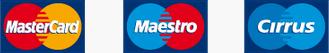 MasterCard, Maestro, Cirrus