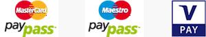 MasterCard PayPass, Maestro PayPass, VPay
